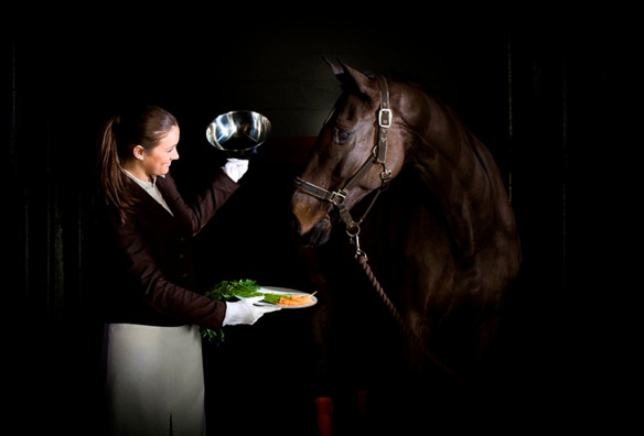 CPA - Ultimate Horse Check-in, carrots served on cloche (high res) (1)