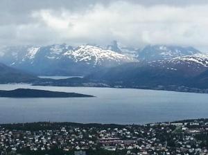 Fiordes em Tromso